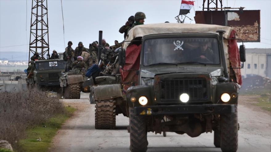 Ejército sirio gana más terreno ante terroristas en Idlib y Alepo