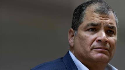 Correa: Están desesperados para que no participe en elecciones