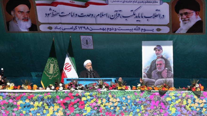 Rohani: Nación iraní eligió independencia con Revolución Islámica | HISPANTV