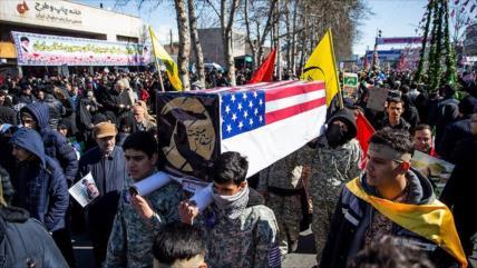General iraní: EEUU enfrentará dura respuesta si no deja la región
