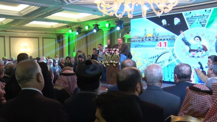 Siria celebra 41.º aniversario de la Revolución Islámica de Irán