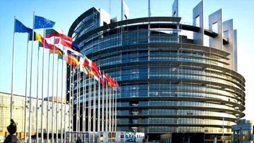 Sede del Parlamento Europeo en Bruselas, Bélgica.