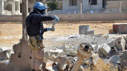 """Siria acusa a EEUU de usar a la """"OPAQ"""" para justificar su agresión"""
