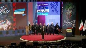 Ceremonia de clausura de la 38.º edición del Festival de cine Fayr