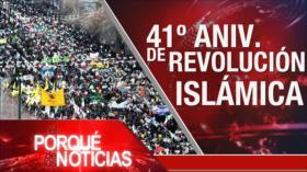 """El Porqué de las Noticias: 41.º aniversario de la Revolución Islámica. Discurso de Rohani. Rechazo al """"acuerdo del siglo"""""""
