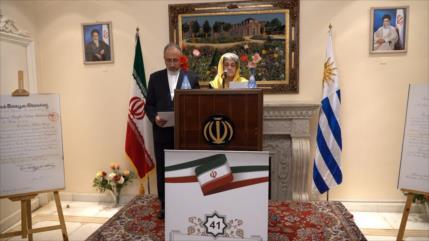 Embajada de Irán en Uruguay celebra sus 41 años de la Revolución