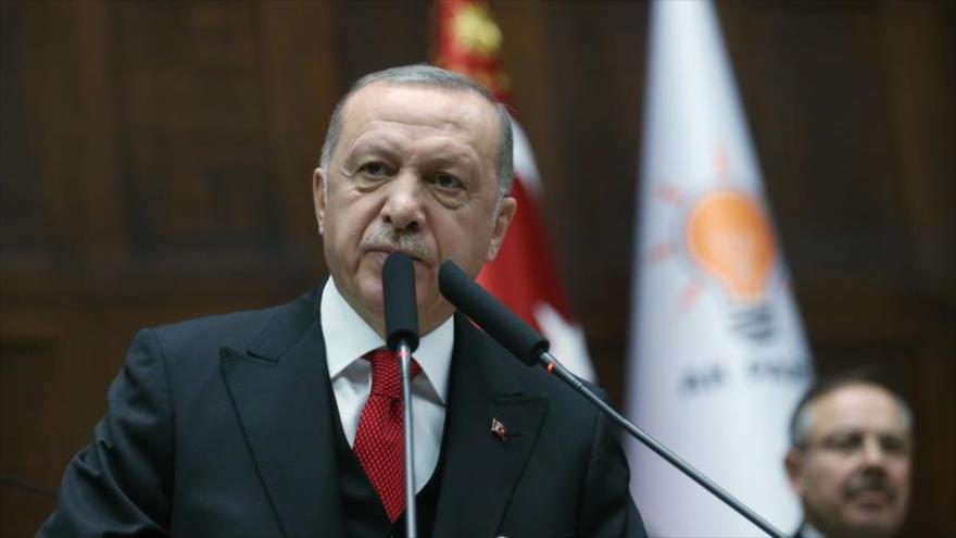 """Erdogan amenaza con """"atacar"""" objetivos de Siria """"en todo"""" el país"""