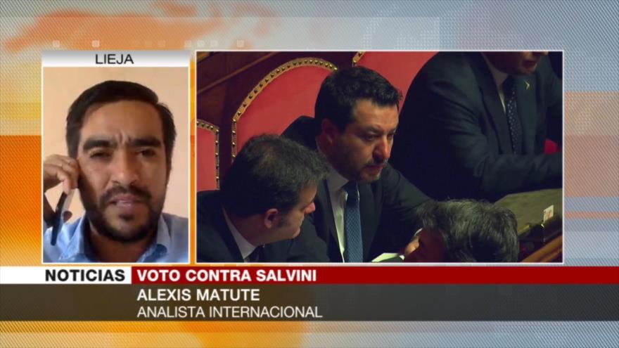 Matute: Senado italiano impide candidatura de Salvini como premier