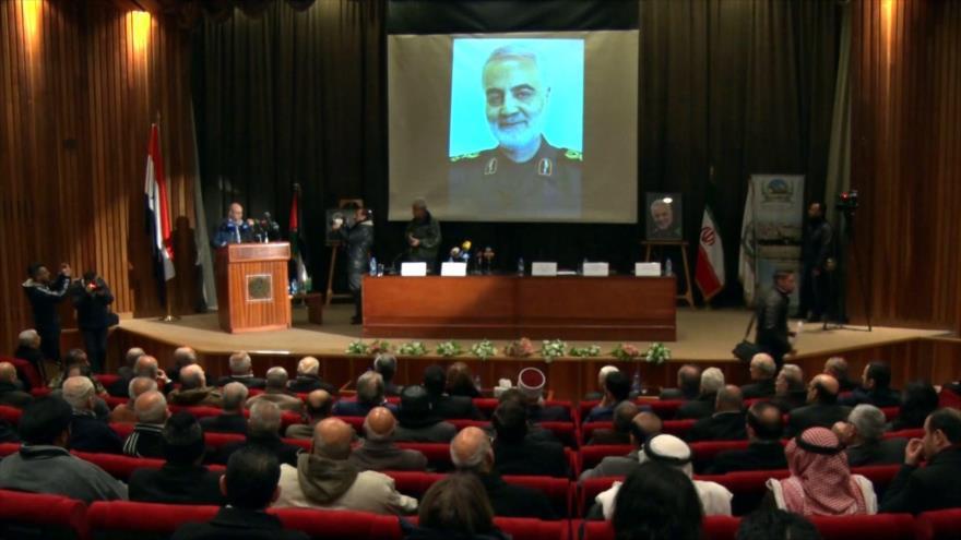 Siria conmemora 40.º día del martirio del general iraní Soleimani | HISPANTV