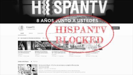 Censura: Google vuelve a bloquear acceso de HispanTV a YouTube