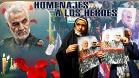 Detrás de la Razón: Rinden tributo y apoyo al general Soleimani desde Irak hasta Paquistán