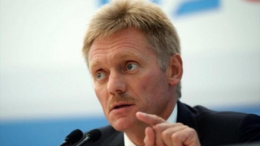 El portavoz del Kremlin, Dmitri Peskov.