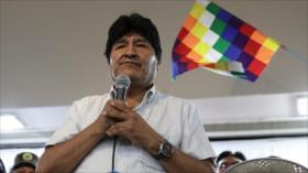 Evo Morales da las gracias a Bernie Sanders por su apoyo