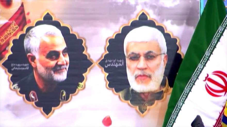 Iraníes conmemoran 40 días del martirio del general Qasem Soleimani