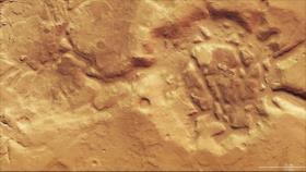 Fotos: Erosión a gran escala por agua, viento y hielo en Marte