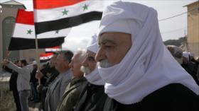 Sirios rechazan anexión de los altos del Golán a Israel