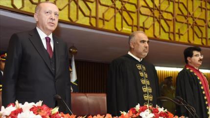 """Erdogan recrimina """"proyecto de ocupación"""" de EEUU para Palestina"""