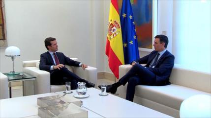 Sánchez busca entenderse con Casado en pactos de Estado