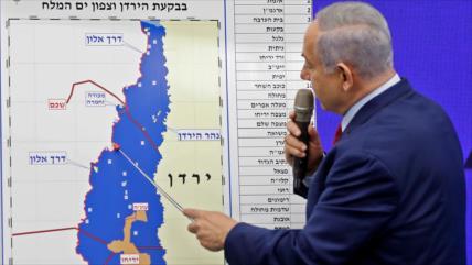 UE exige a Israel no extender su ocupación basada en plan de EEUU