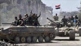 Ejército sirio arrebata más zonas a terroristas en Idlib y Alepo