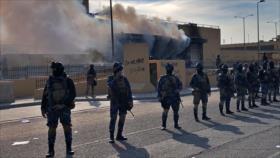 Vídeo: Cohetes impactan la embajada y una base de EEUU en Bagdad