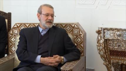 Presidente del Parlamento iraní se reúne con Al-Asad en Damasco