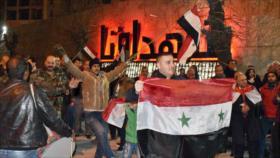 Vídeo: Sirios festejan liberación total de alrededores de Alepo