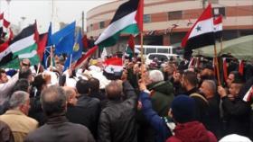 Protestas en Siria contra presencia de fuerzas ocupantes de EEUU