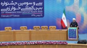 Rohani: Irán inauguró la democracia en Asia Occidental
