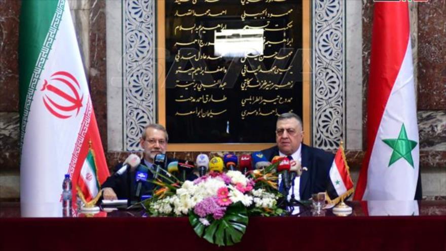 Siria e Irán, juntos, harán frente a sanciones unilaterales de EEUU