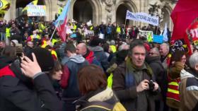 Liberación de de Alepo. Crisis en Libia. Protesta contra Macron - Boletín: 17:30 - 17/02/2020