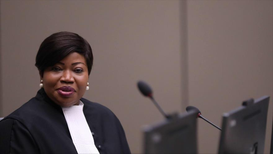 La fiscal jefe de la Corte Penal Internacional (TPI), Fatou Bensoudaha, en La Haya, 8 de julio de 2019. (Foto: AFP)