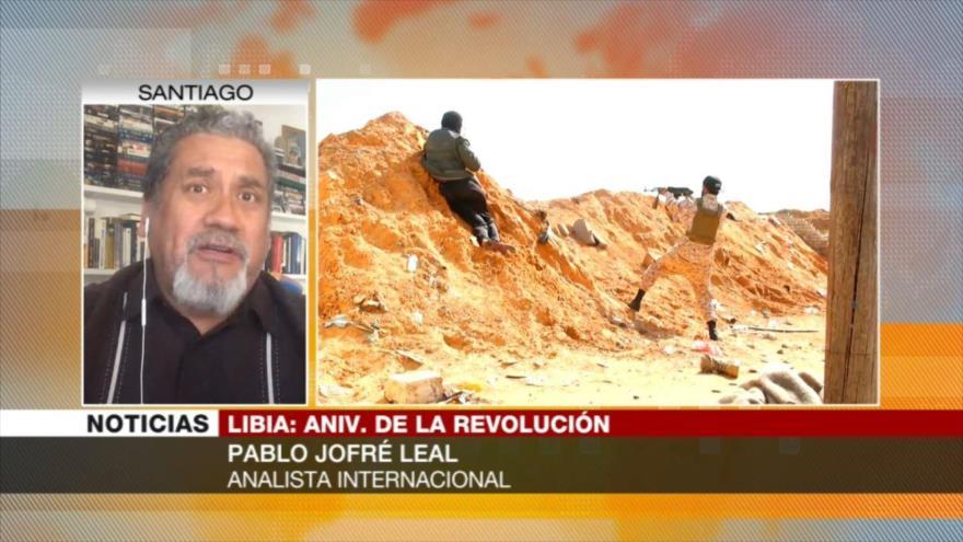 Jofré: Guerra en Libia se debe a intereses de potencias del mundo