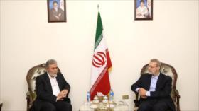 Irán reitera su apoyo a la Resistencia palestina contra Israel