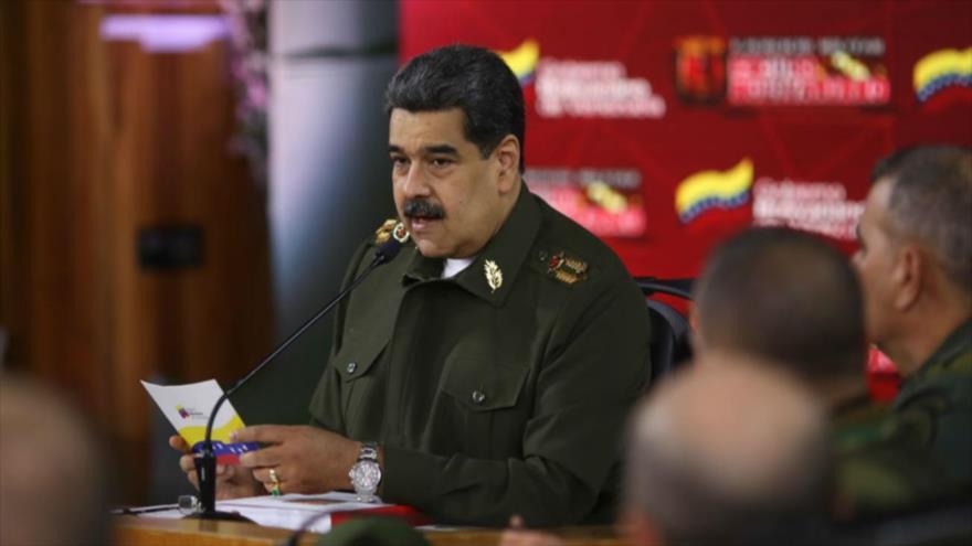 Vídeo: Maduro asevera que no tiene miedo de una guerra con EEUU