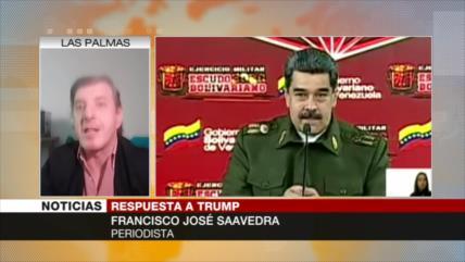 Saavedra: Amenazas mutuas entre EEUU-Venezuela no llegarán a nada