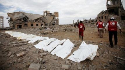 Video que hiere la sensibilidad: Así Riad mata a niños yemeníes