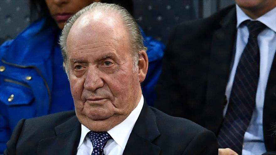 El rey emérito Juan Carlos I de España participa en un evento deportivo en Madrid, 11 de mayo de 2019. (Foto: AFP)