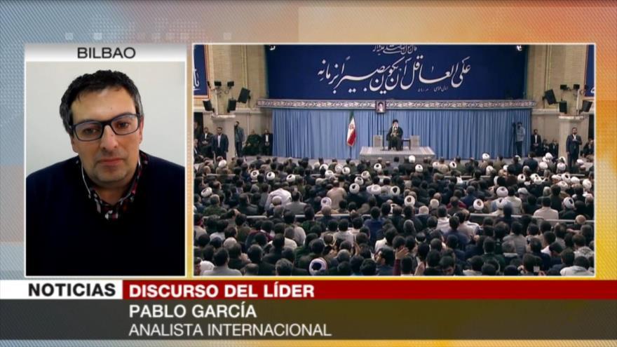García: Políticas injerencistas no pueden debilitar voluntad iraní
