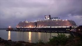 Temor por coronavirus mantiene atrapados a crucero Westerdam