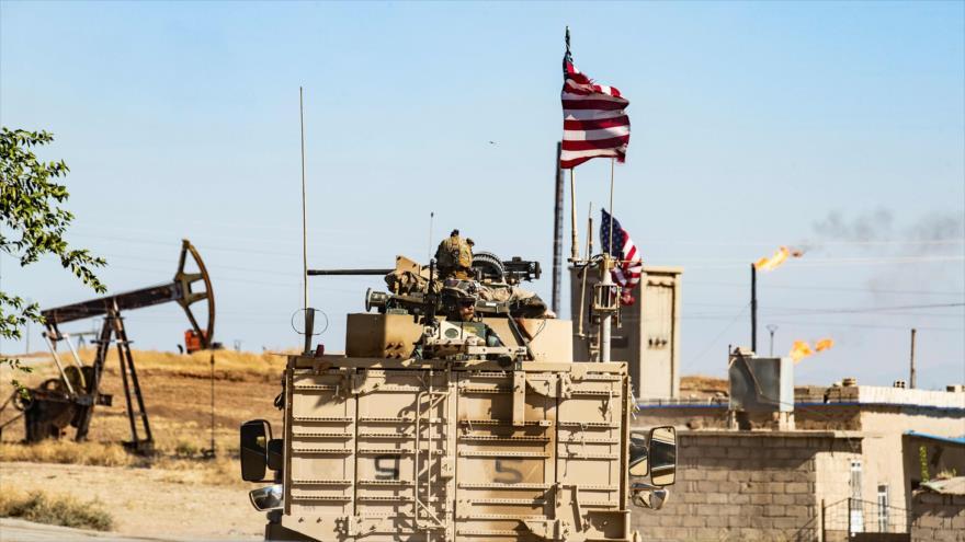 Vehículos militares de EE.UU. desplegados en el norte de Siria, 6 de noviembre de 2019. (Foto: AFP)