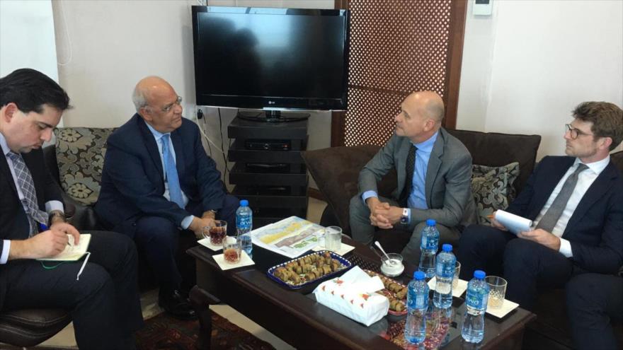 OLP pide a empresas extranjeras a abandonar asentamientos israelíes