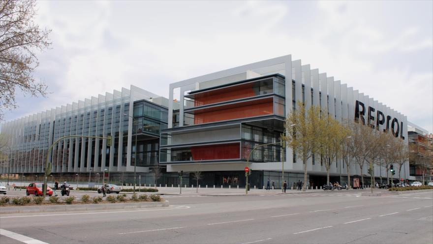 Sede de la empresa Repsol en Madrid, capital de España.