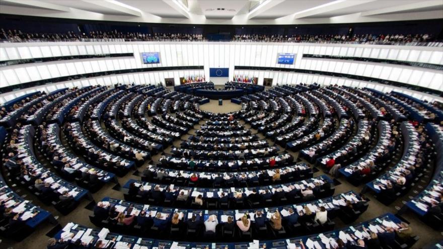 Vista general del Parlamento Europeo durante una sesión.