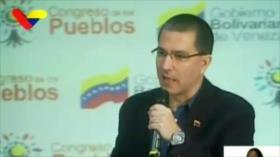 Venezuela repudia sanciones de EEUU contra petrolera rusa Rosneft