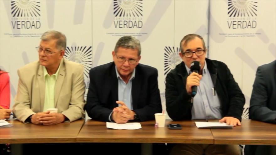 Exmiembros de FARC inician su confesión de la verdad del conflicto   HISPANTV