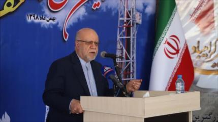 Nuevo logro: Irán estrena primera plataforma petrolífera nacional