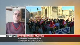 Moragón: Macron es incapaz de gobernar su propio país