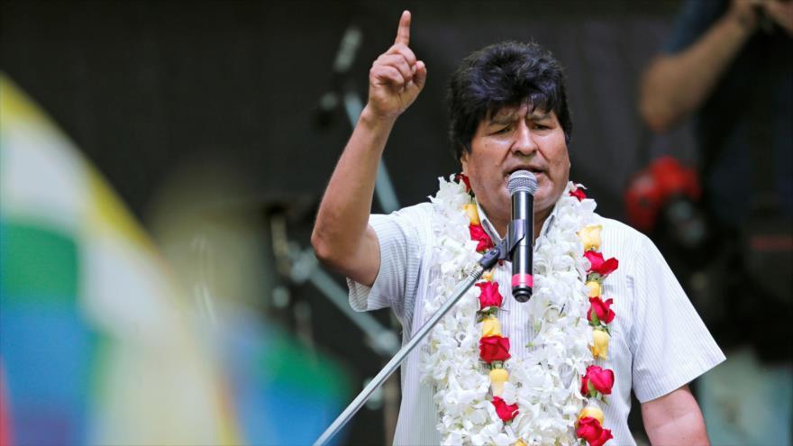 El TSE de Bolivia inhabilita candidatura de Evo Morales al Senado