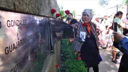 Memorial a víctimas de dictadura en Chile, vandalizado por derecha